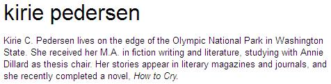 Kirie Pedersen Biography